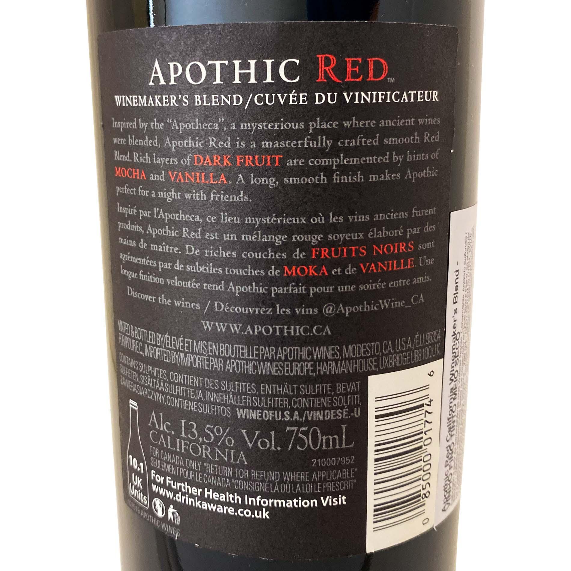 Apothic Winemaker
