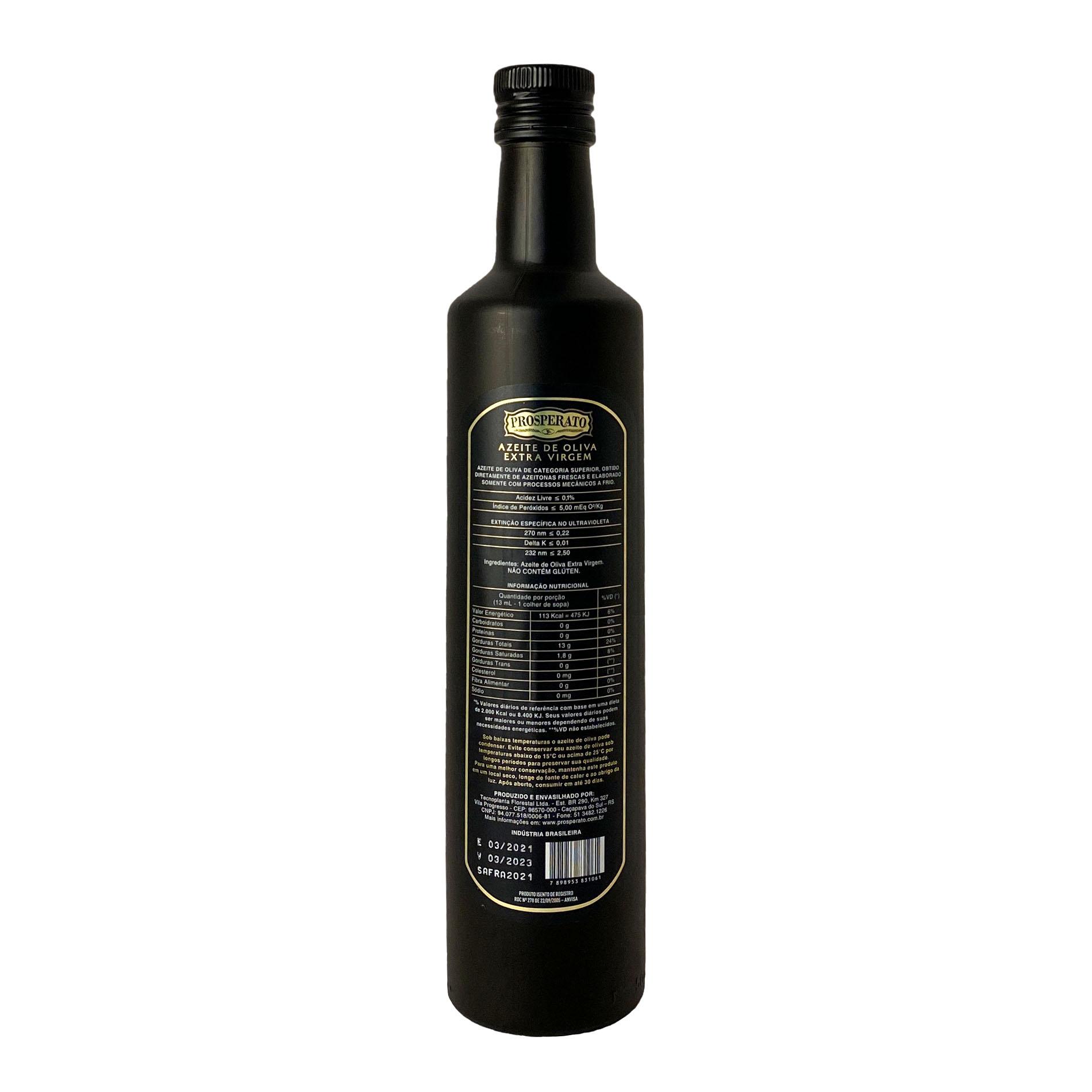 Azeite Extra Virgem Prosperato Koroneiki (500ml)  - Vinerize