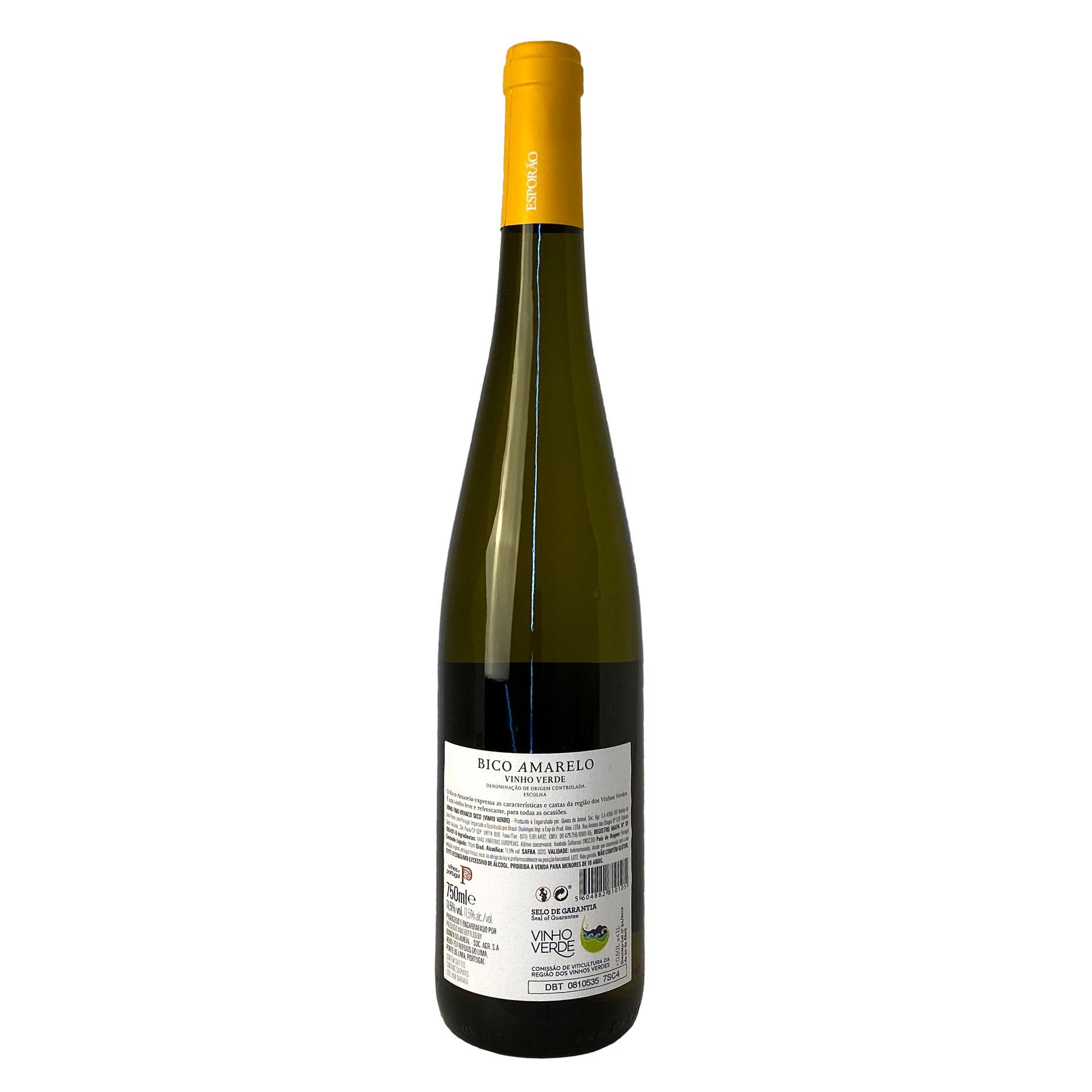 Bico Amarelo Vinho Verde  - Vinerize