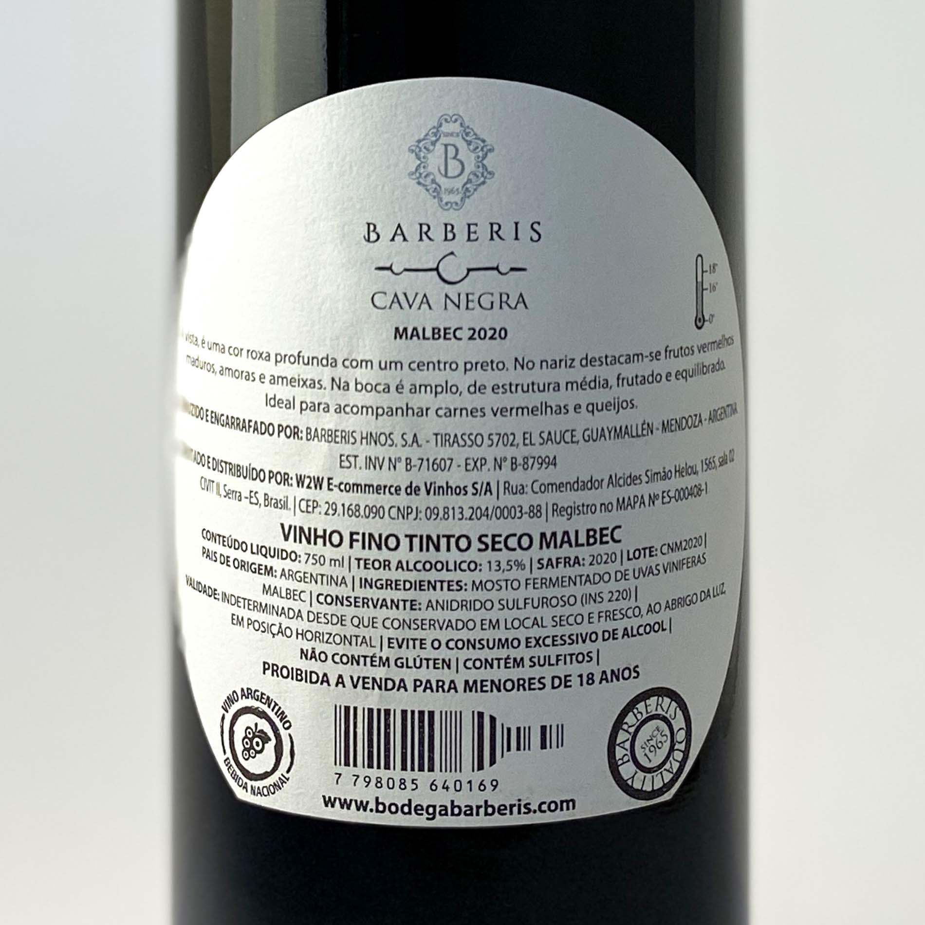 Cava Negra Malbec  - Vinerize