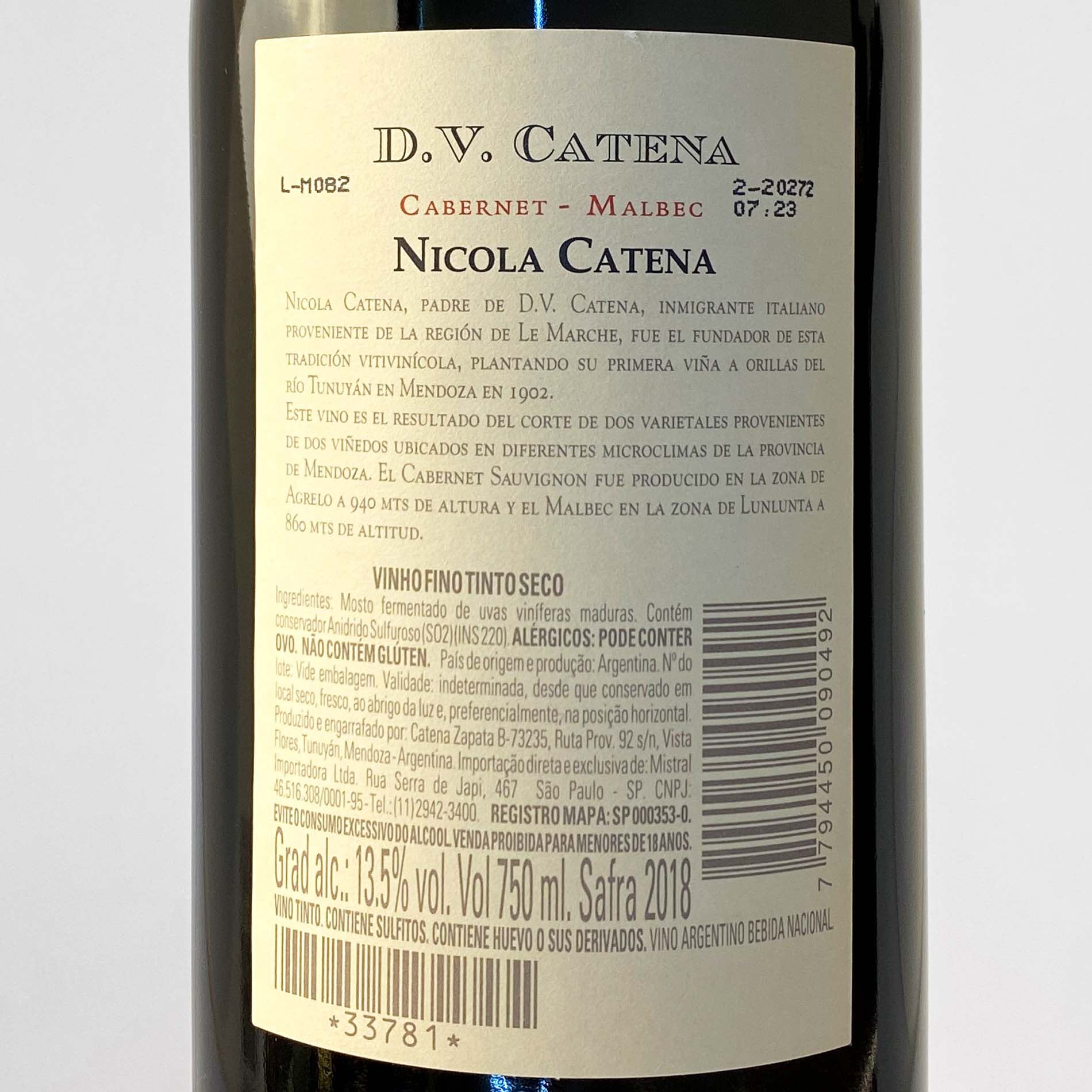 DV Catena Cabernet-Malbec  - Vinerize