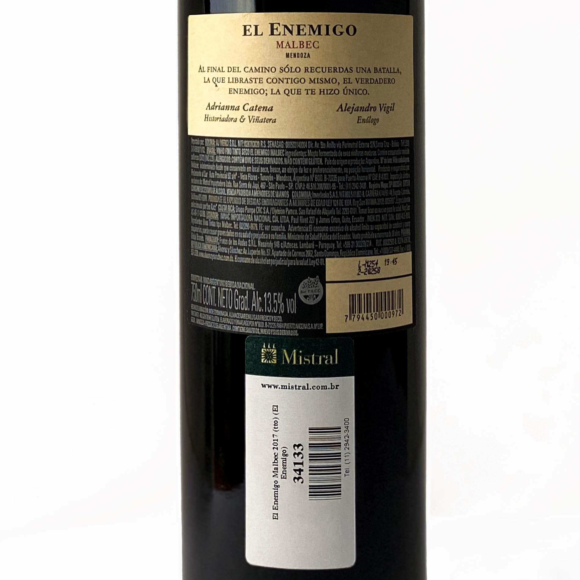 El Enemigo Malbec  - Vinerize