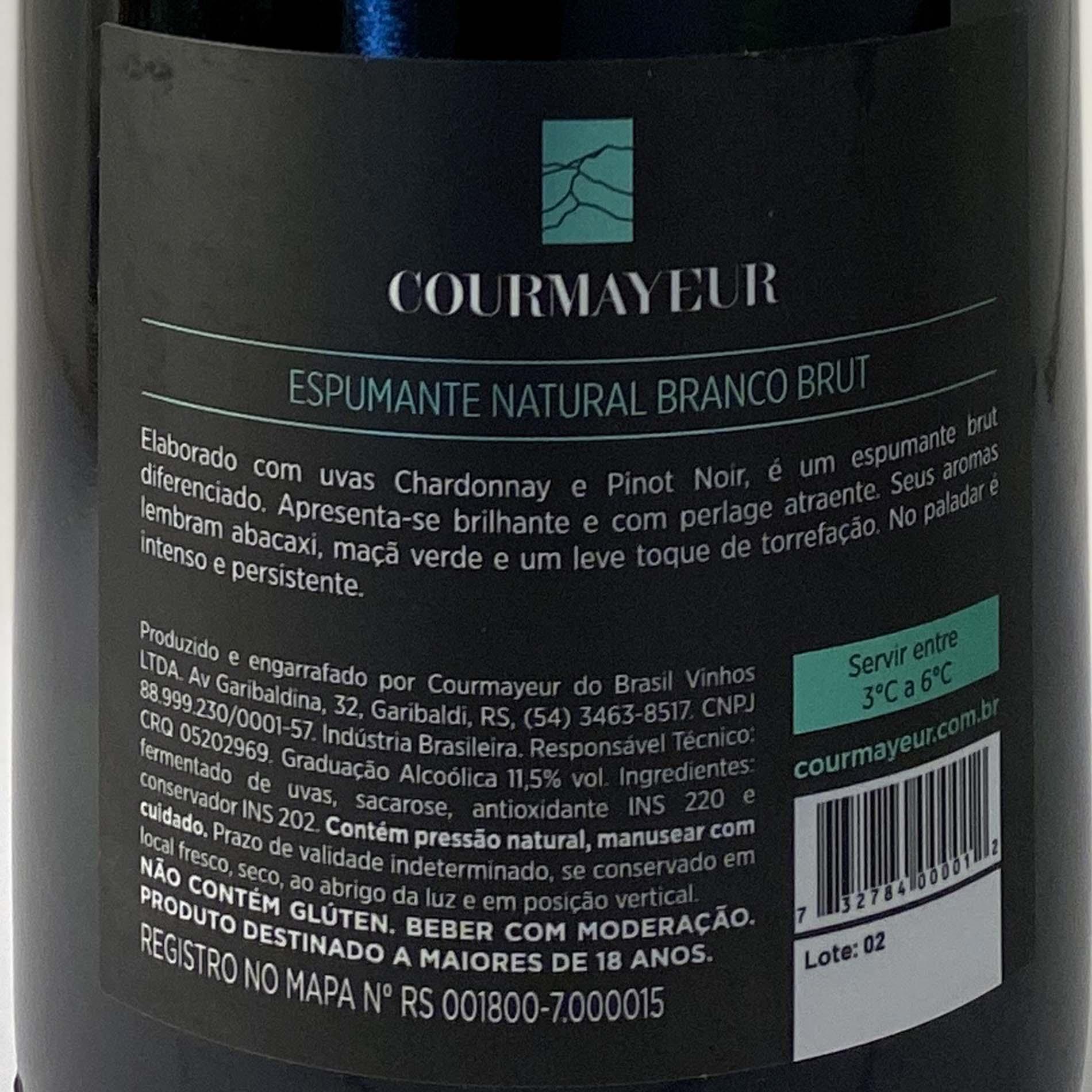 Espumante Courmayeur Brut  - Vinerize