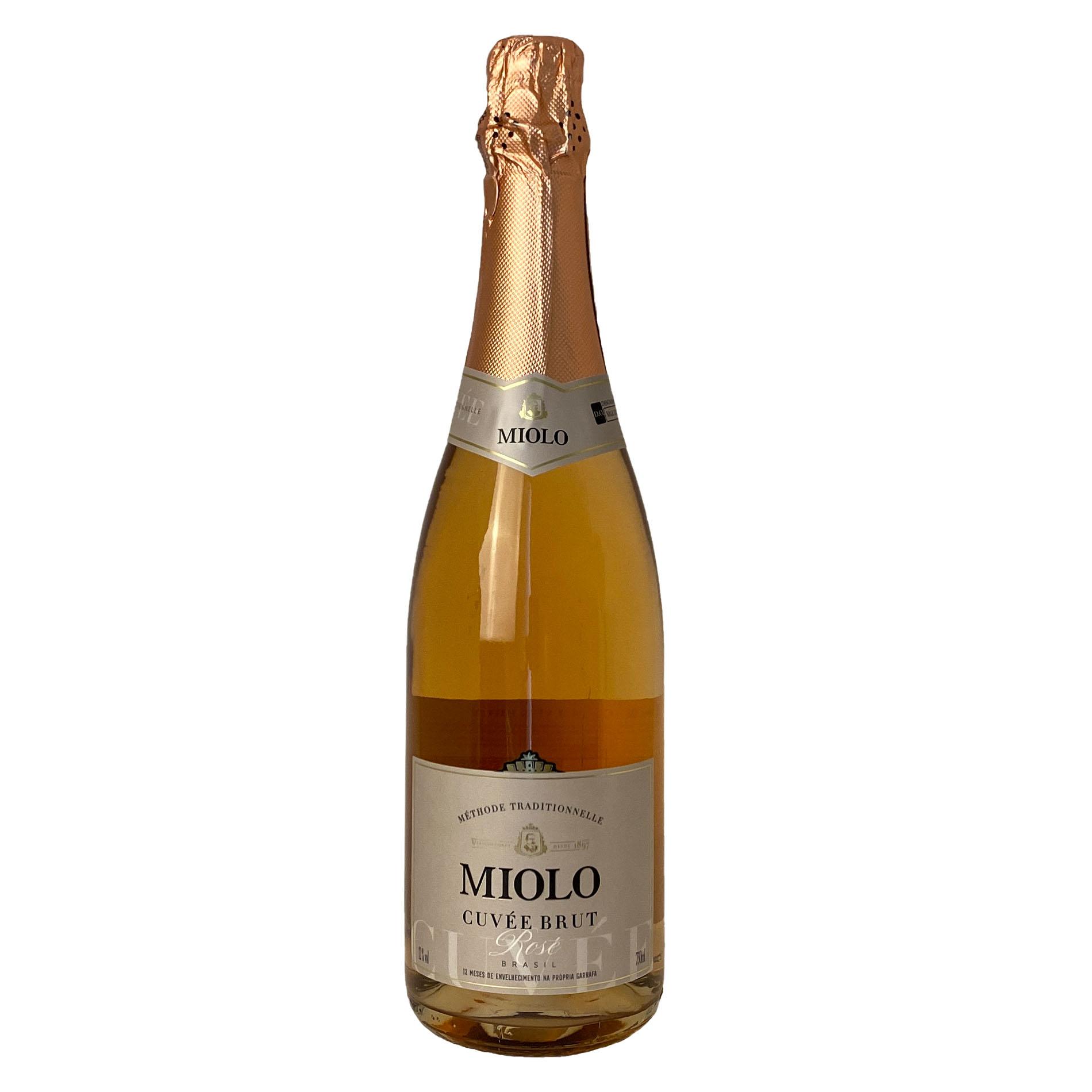 Espumante Miolo Cuvée Tradition Brut Rosé  - Vinerize