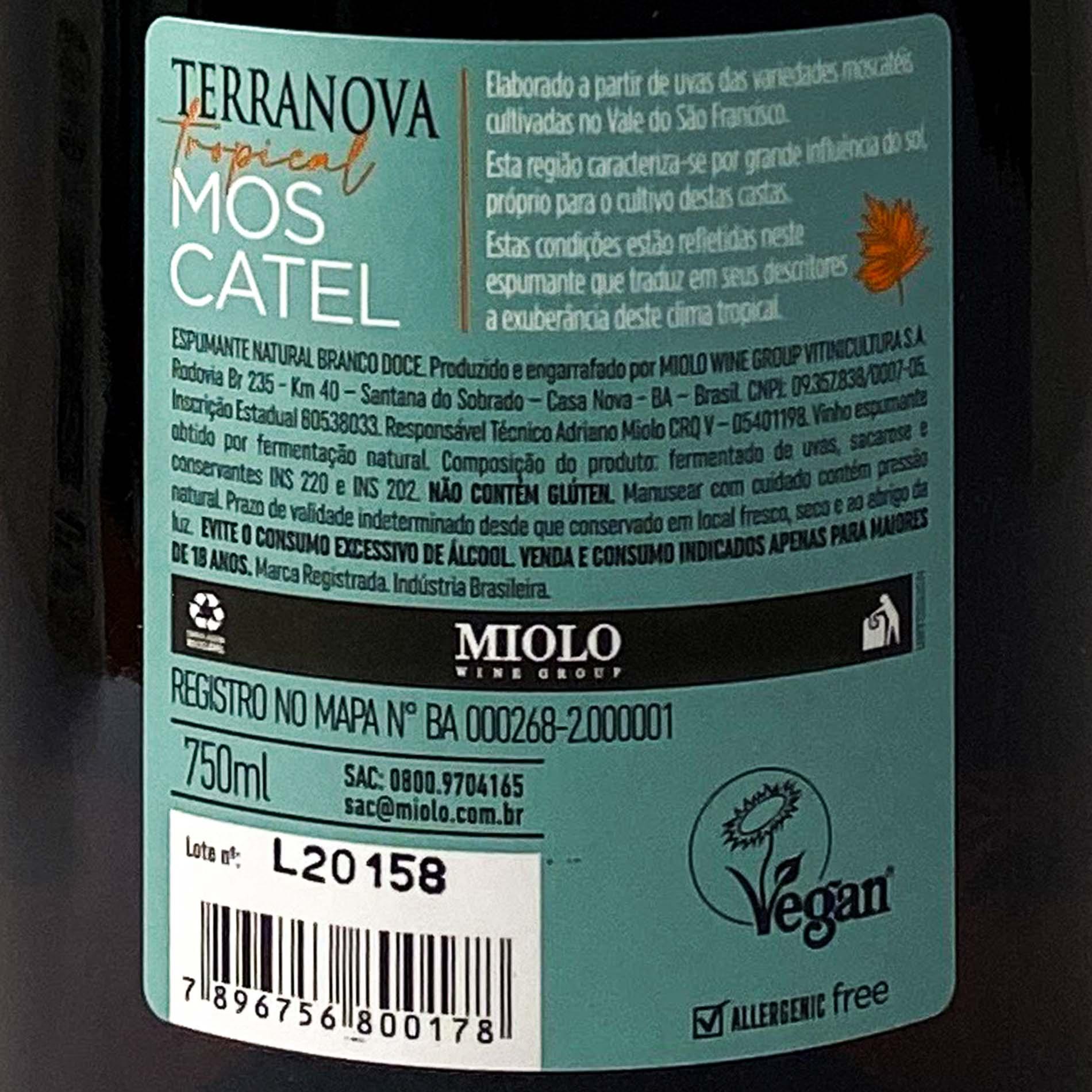 Espumante Terranova Moscatel  - Vinerize