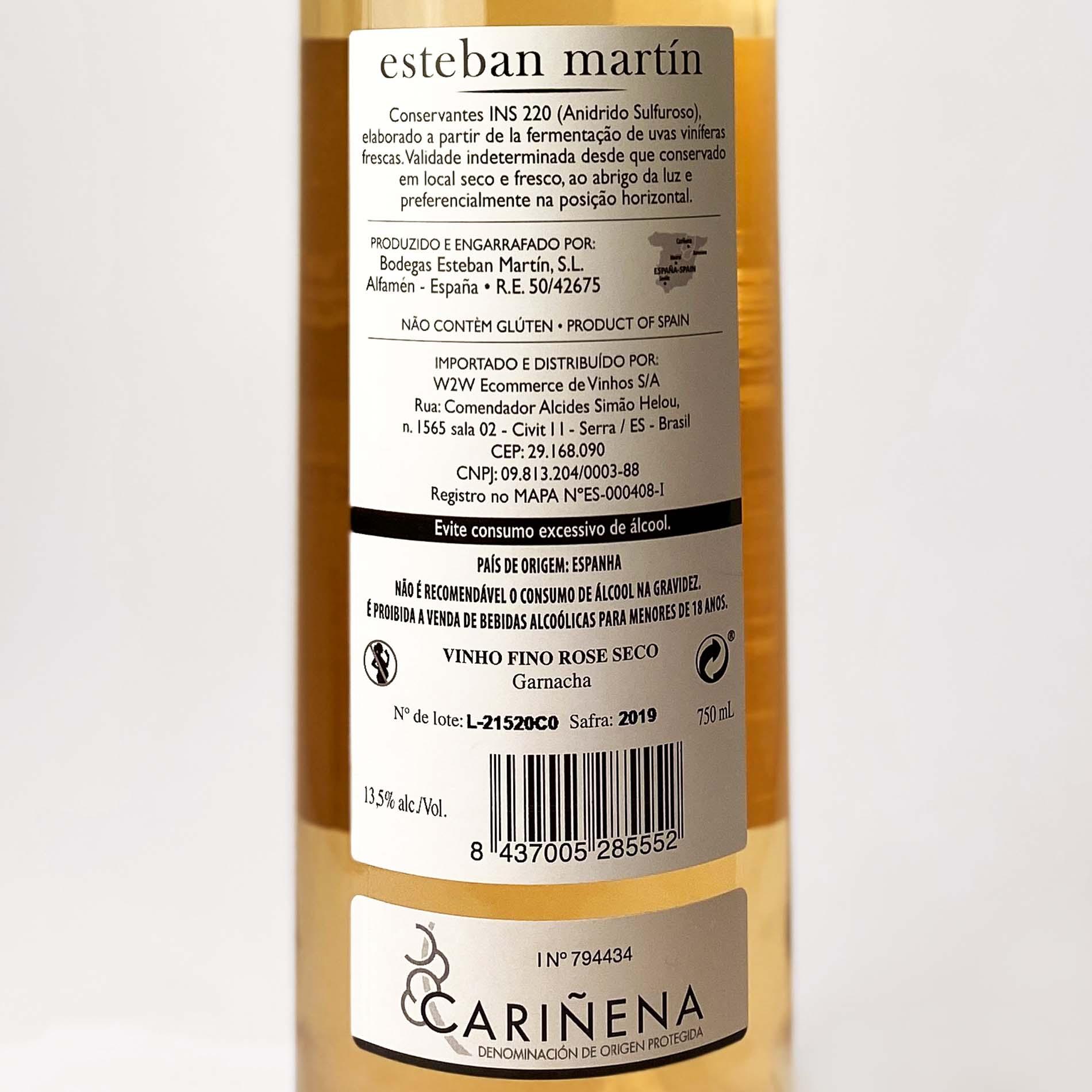 Esteban Martín D.O.P. Cariñena Garnacha Rosado  - Vinerize