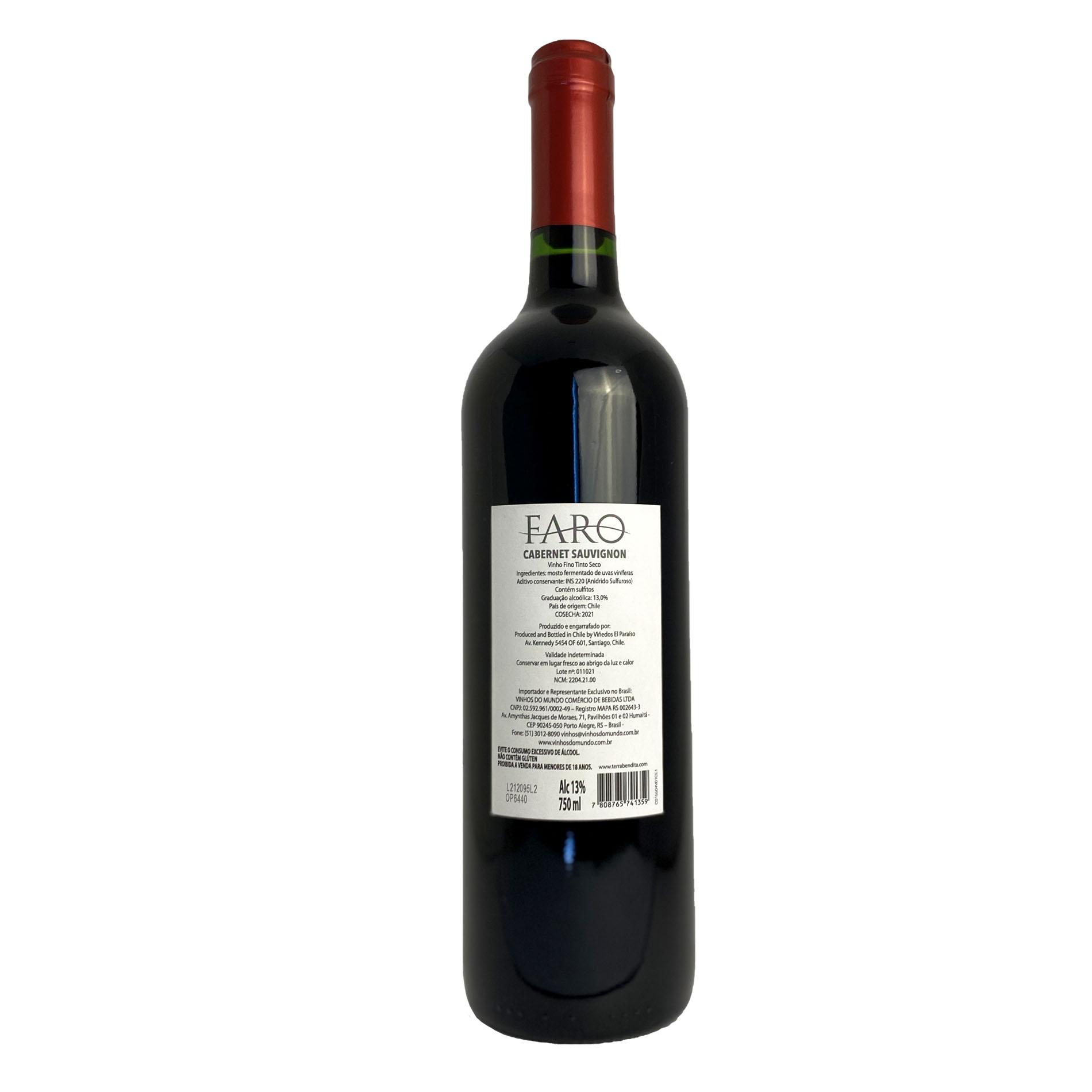 Faro Cabernet  Sauvignon (Chileno)  - Vinerize