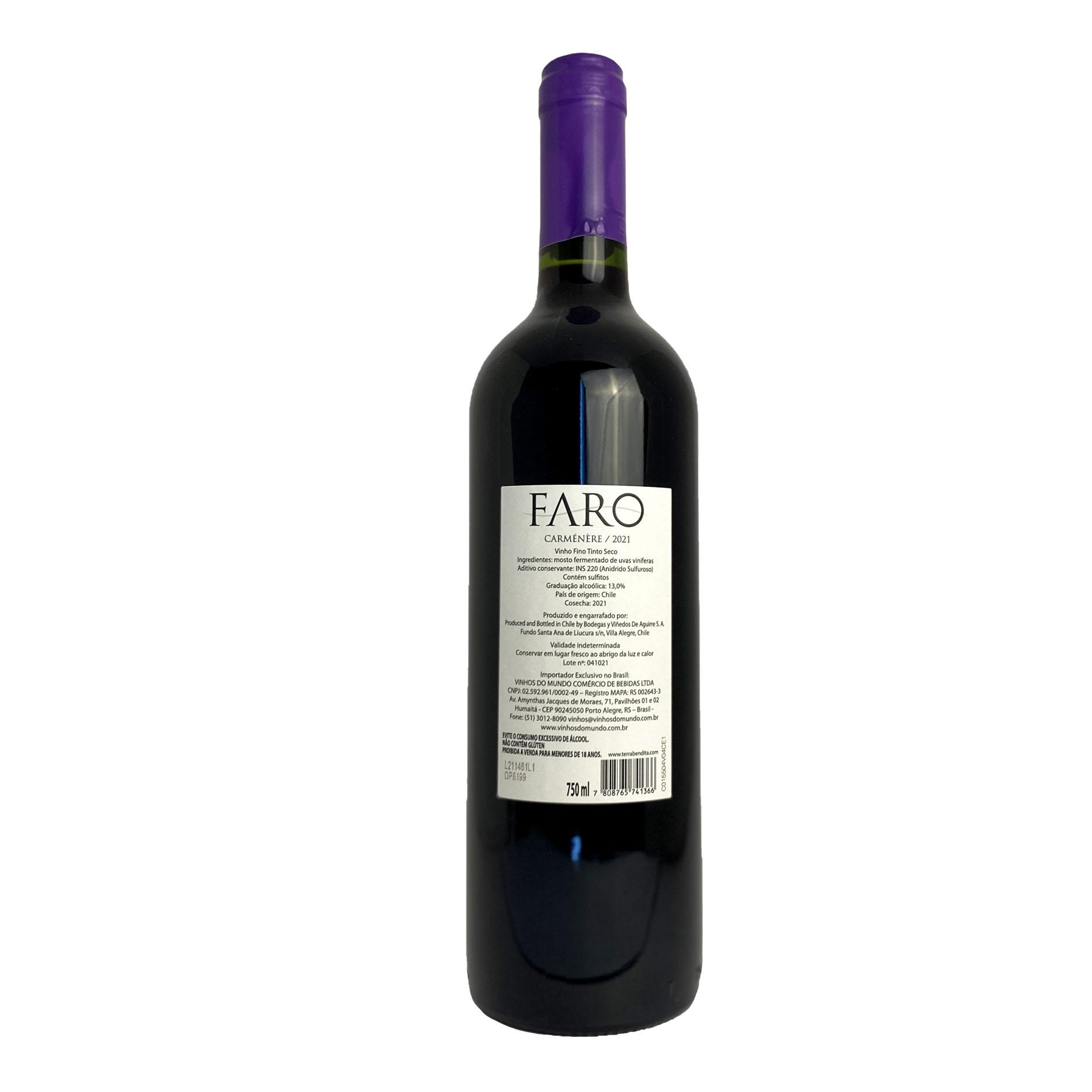 Faro Carmenere (Chileno)  - Vinerize