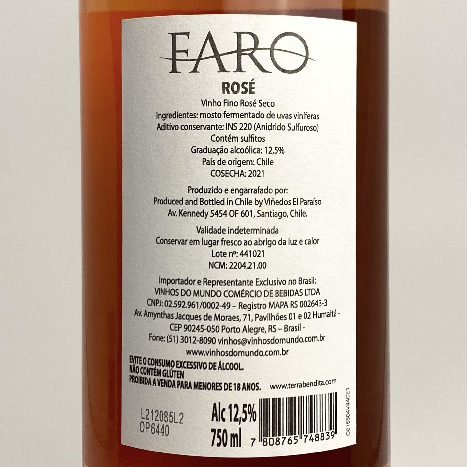 Faro Syrah Rose (Chileno)  - Vinerize