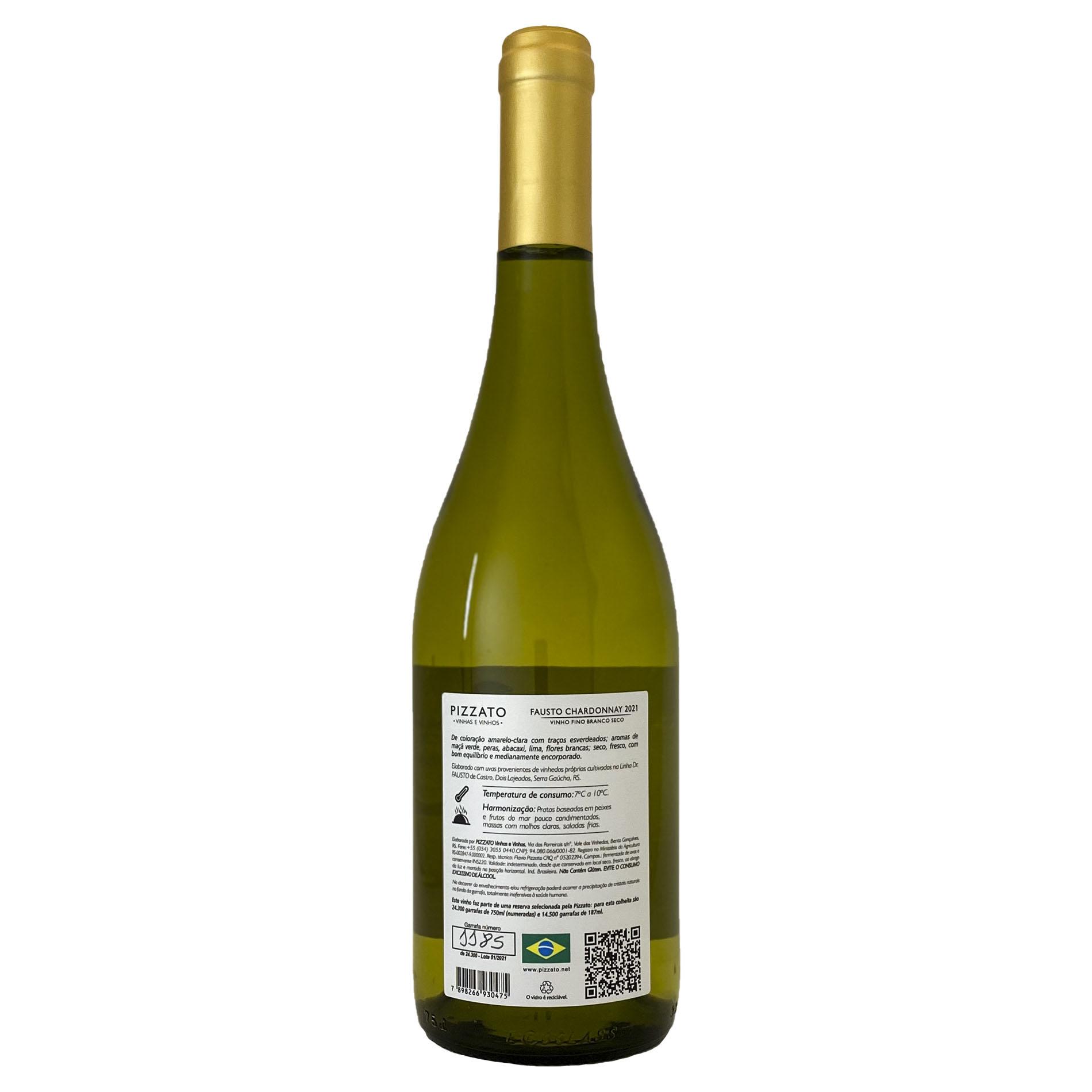 FAUSTO (de Pizzato) Chardonnay  - Vinerize