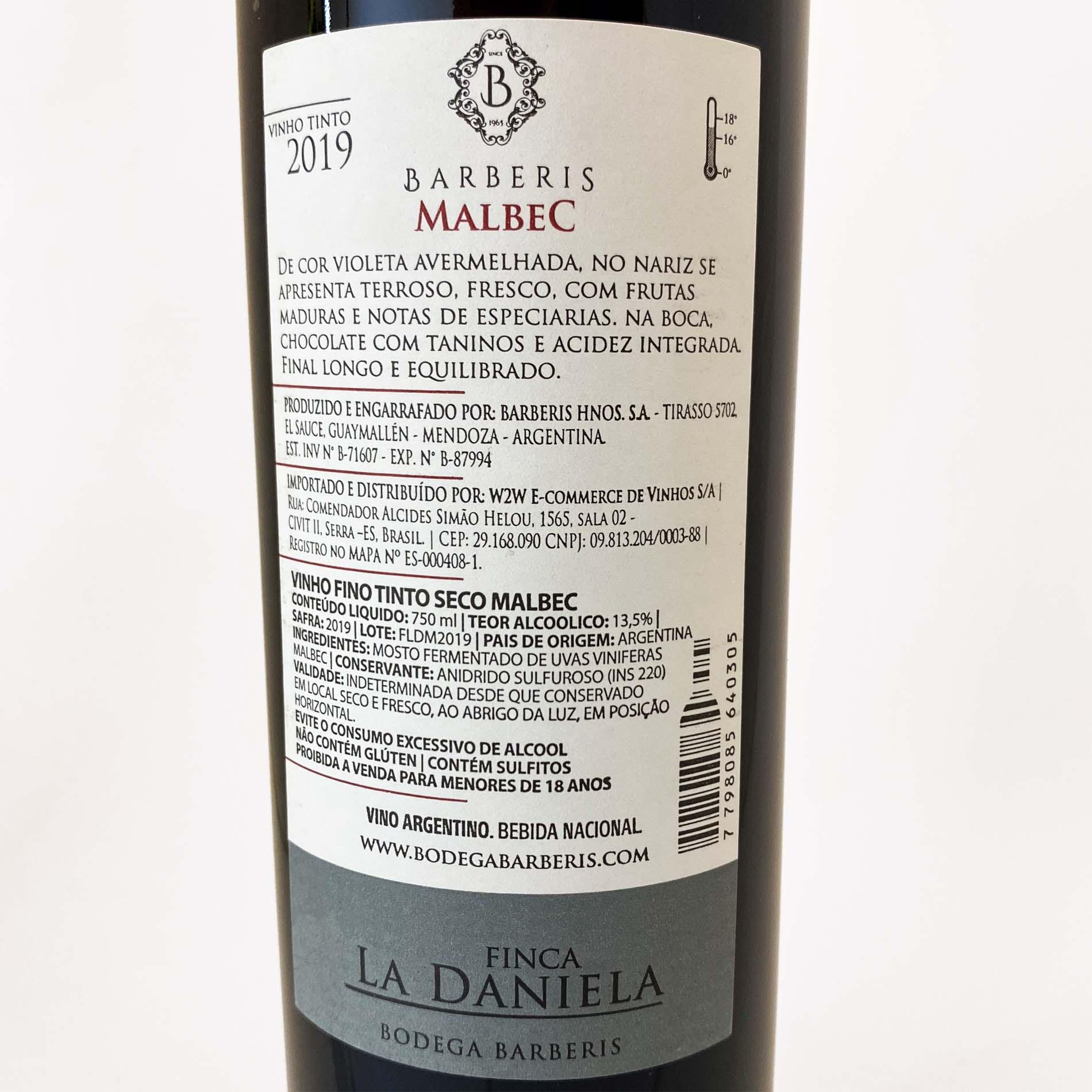 Finca La Daniela Malbec  - Vinerize