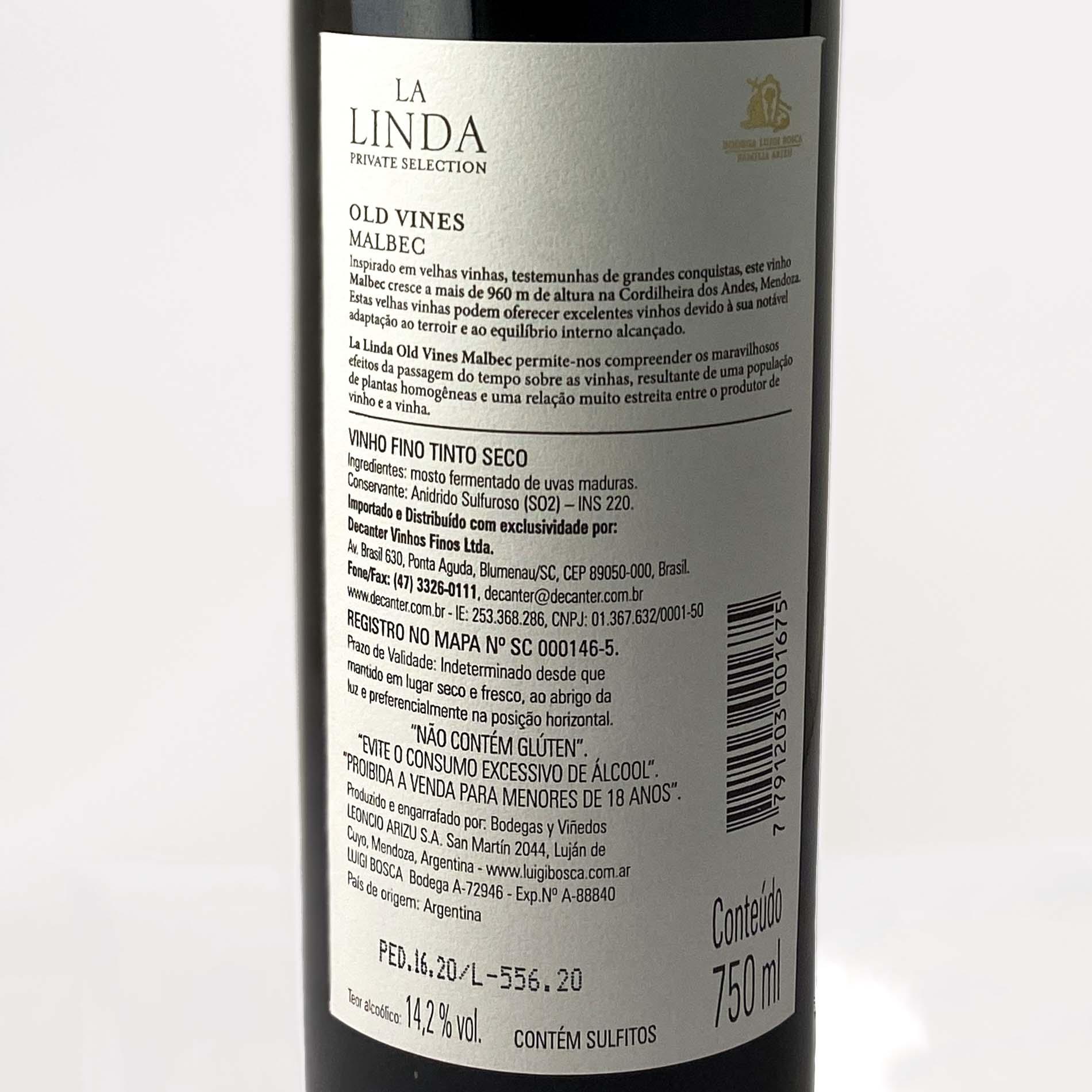 Finca La Linda Old Vines Malbec  - Vinerize