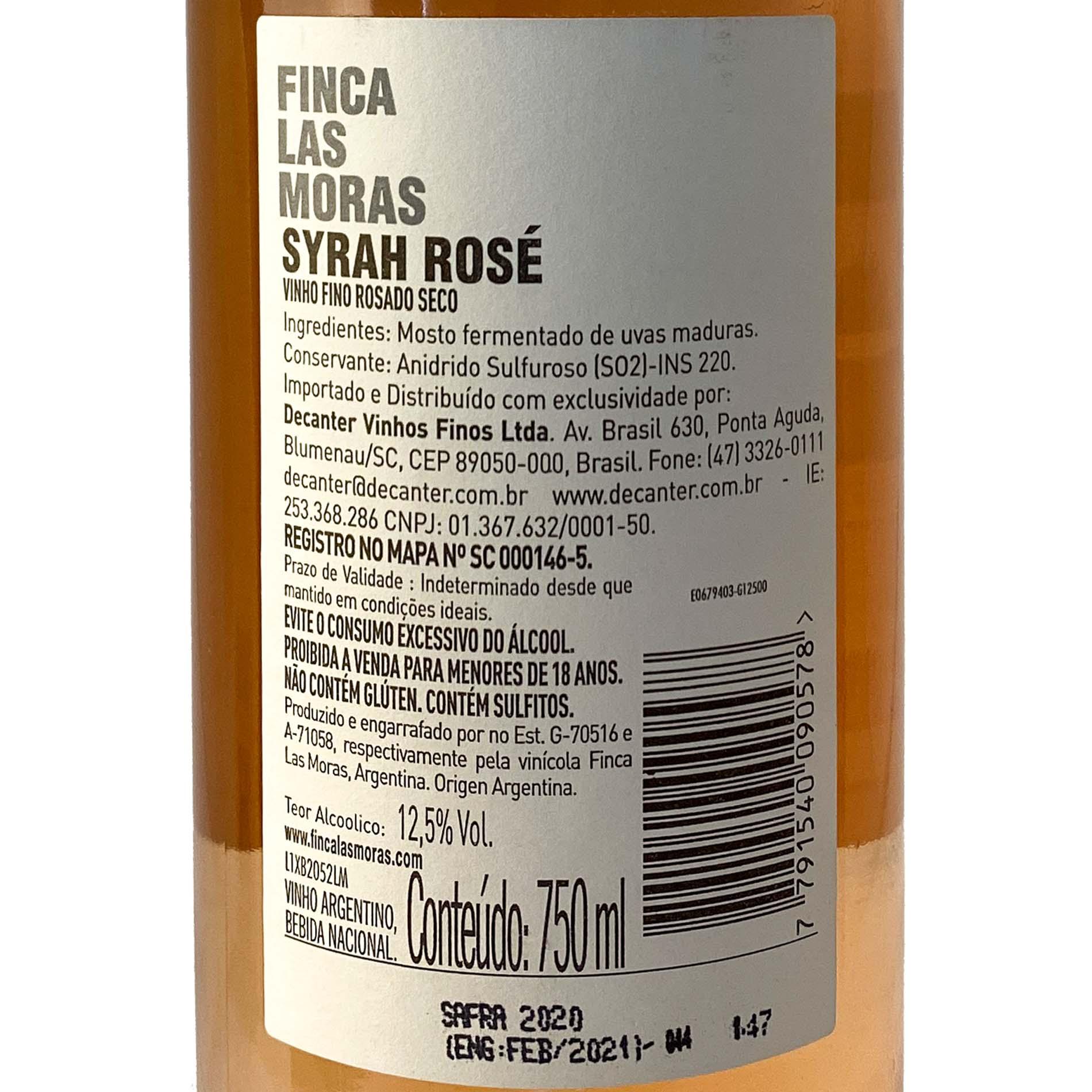 Finca Las Moras Syrah Rosé  - Vinerize