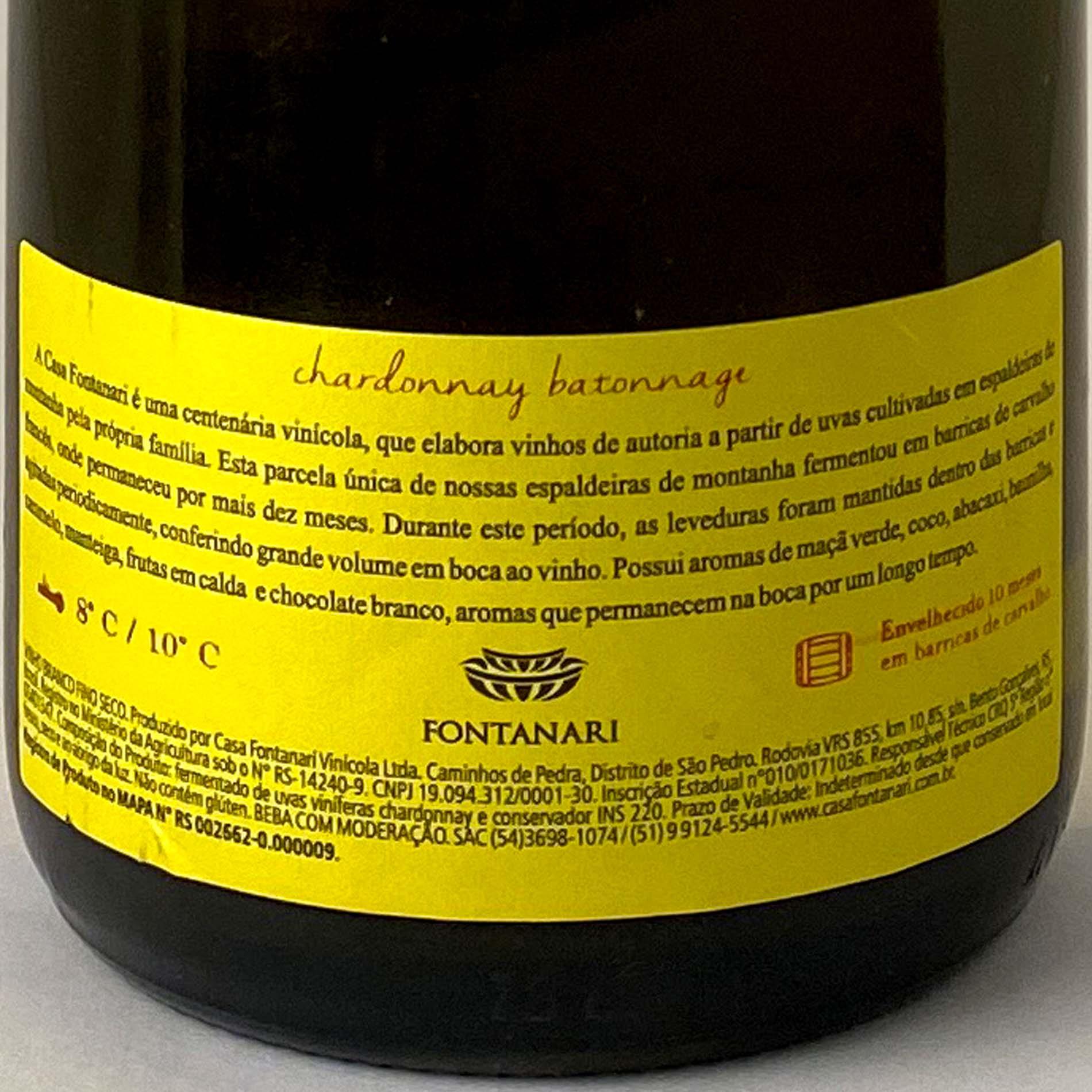 Fontanari Chardonnay Batonage  - Vinerize