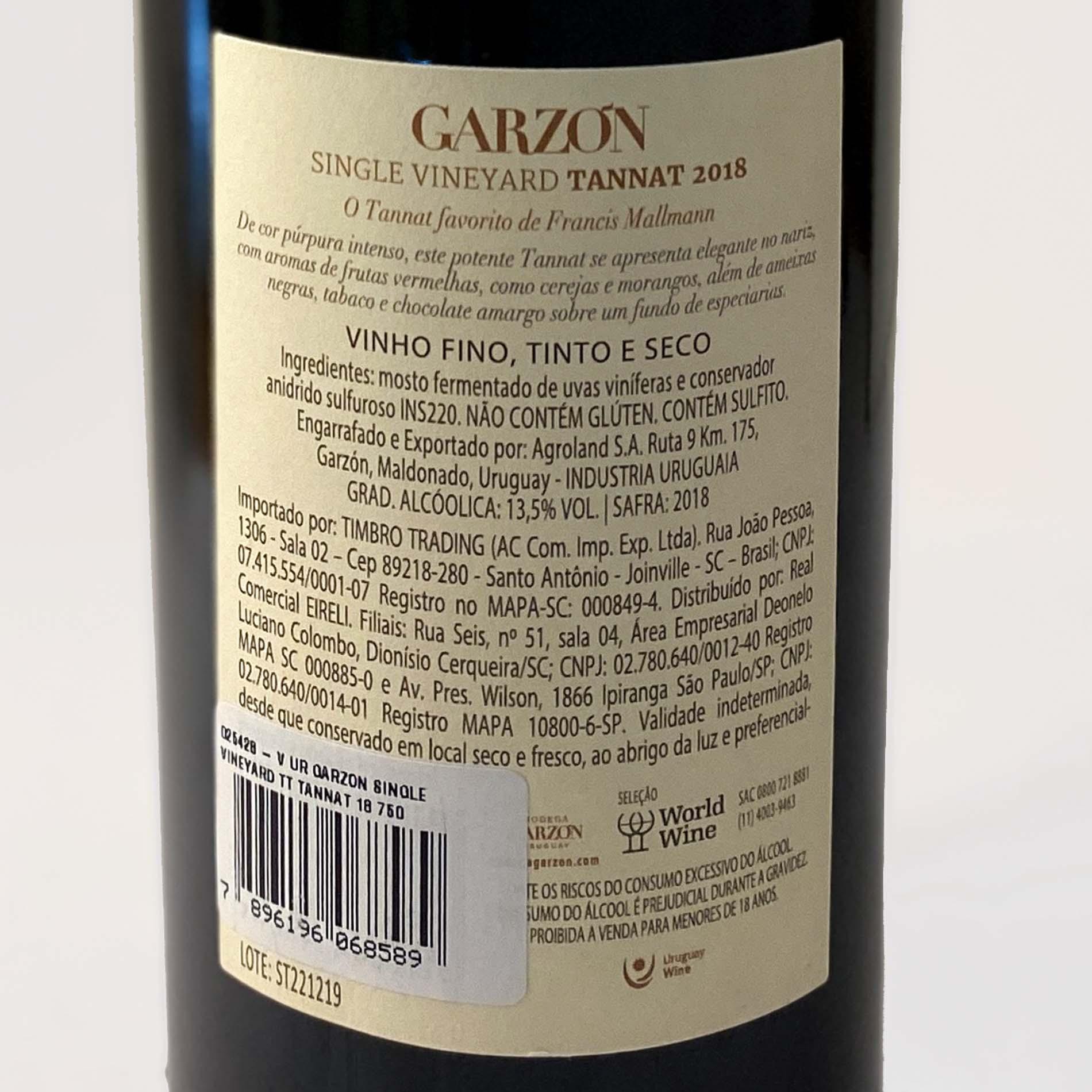 Garzón Single Vineyard Tannat  - Vinerize