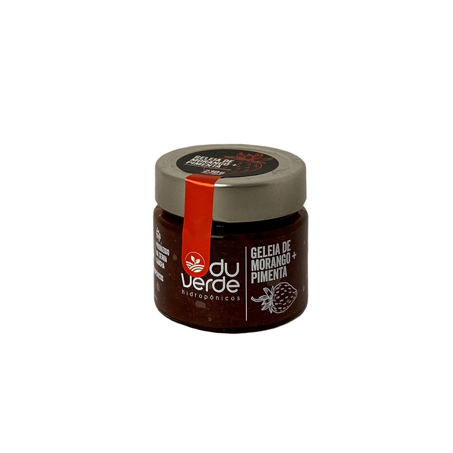 Geleia de Morango + Pimenta  - Vinerize