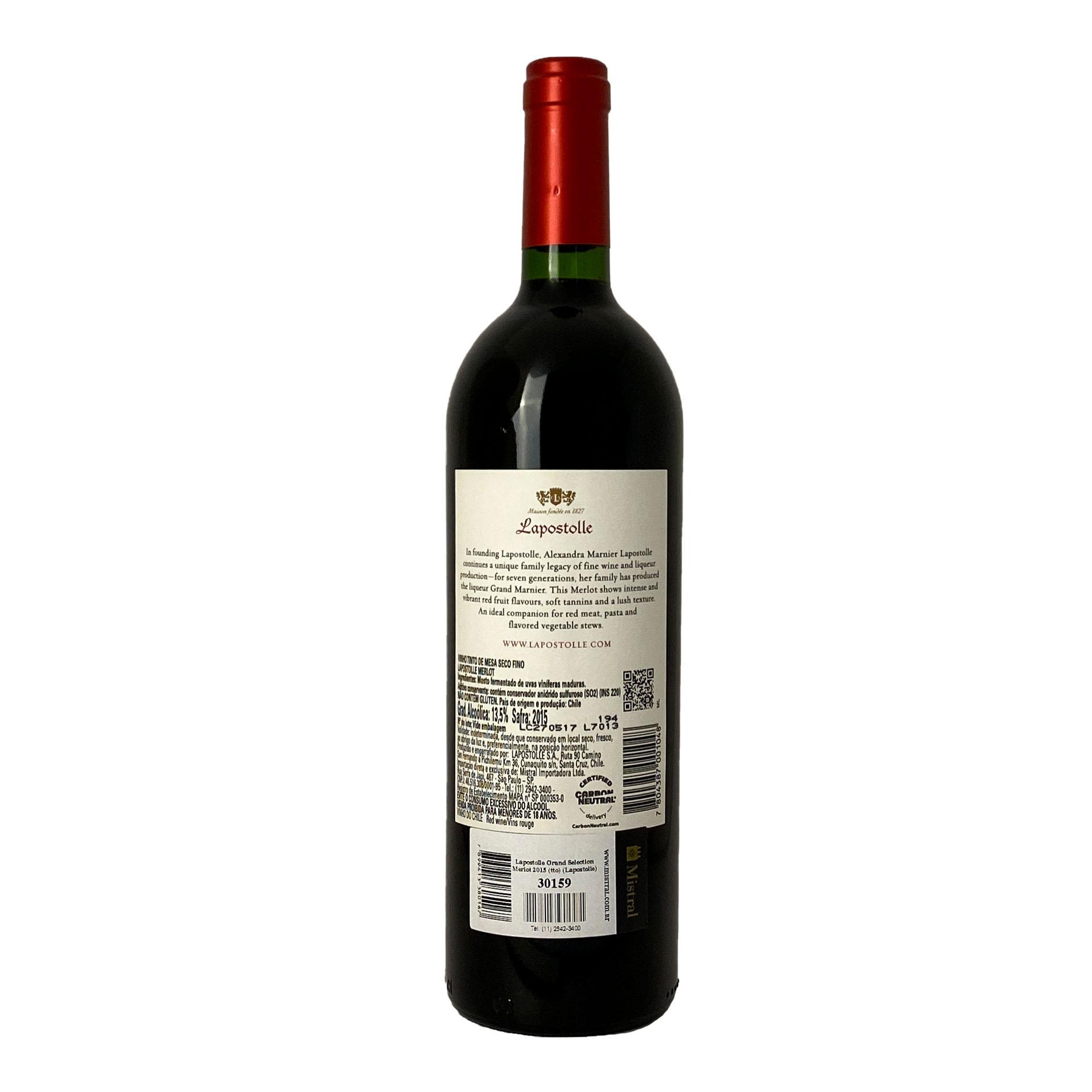 Lapostolle Grand Selection Merlot  - Vinerize