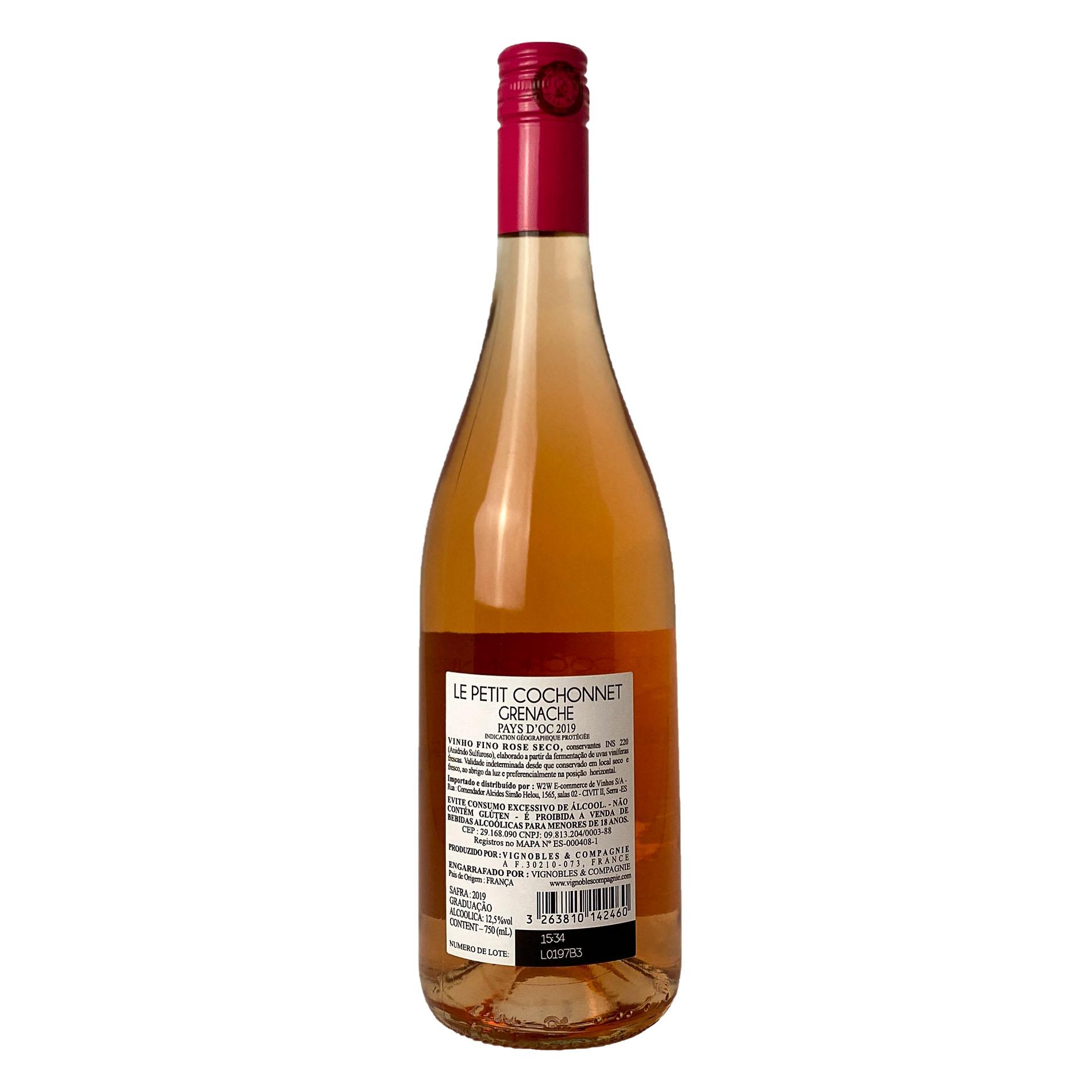 Le Petit Cochonnet I.G.P. Pays dOc Grenache Rosé  - Vinerize