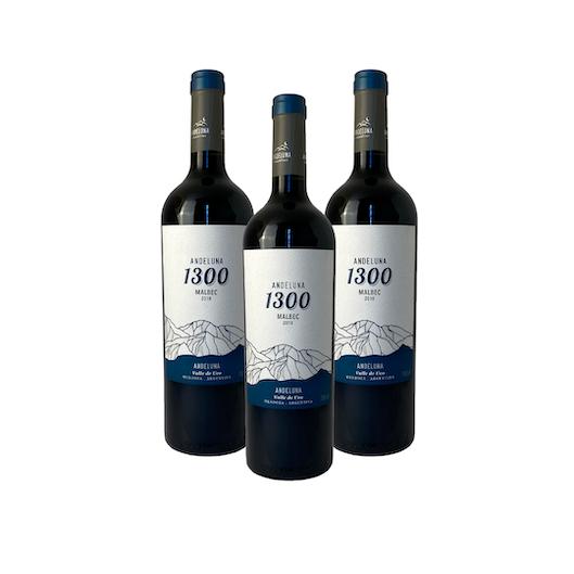Leve 3, Pague 2 - Andeluna 1300 Malbec  - Vinerize