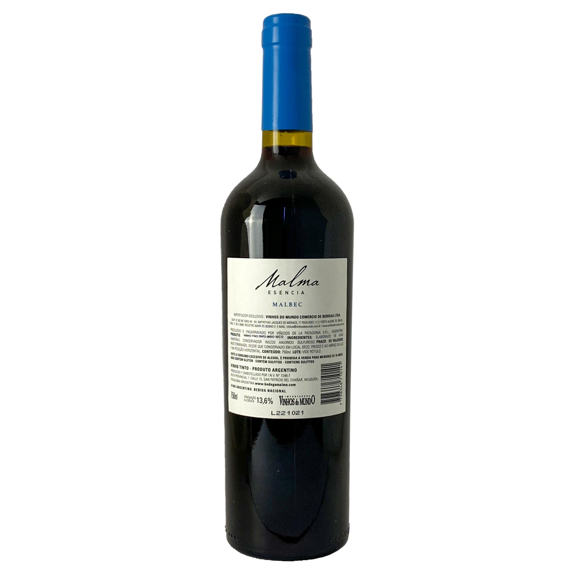 Malma Esencia Family Wines Malbec  - Vinerize