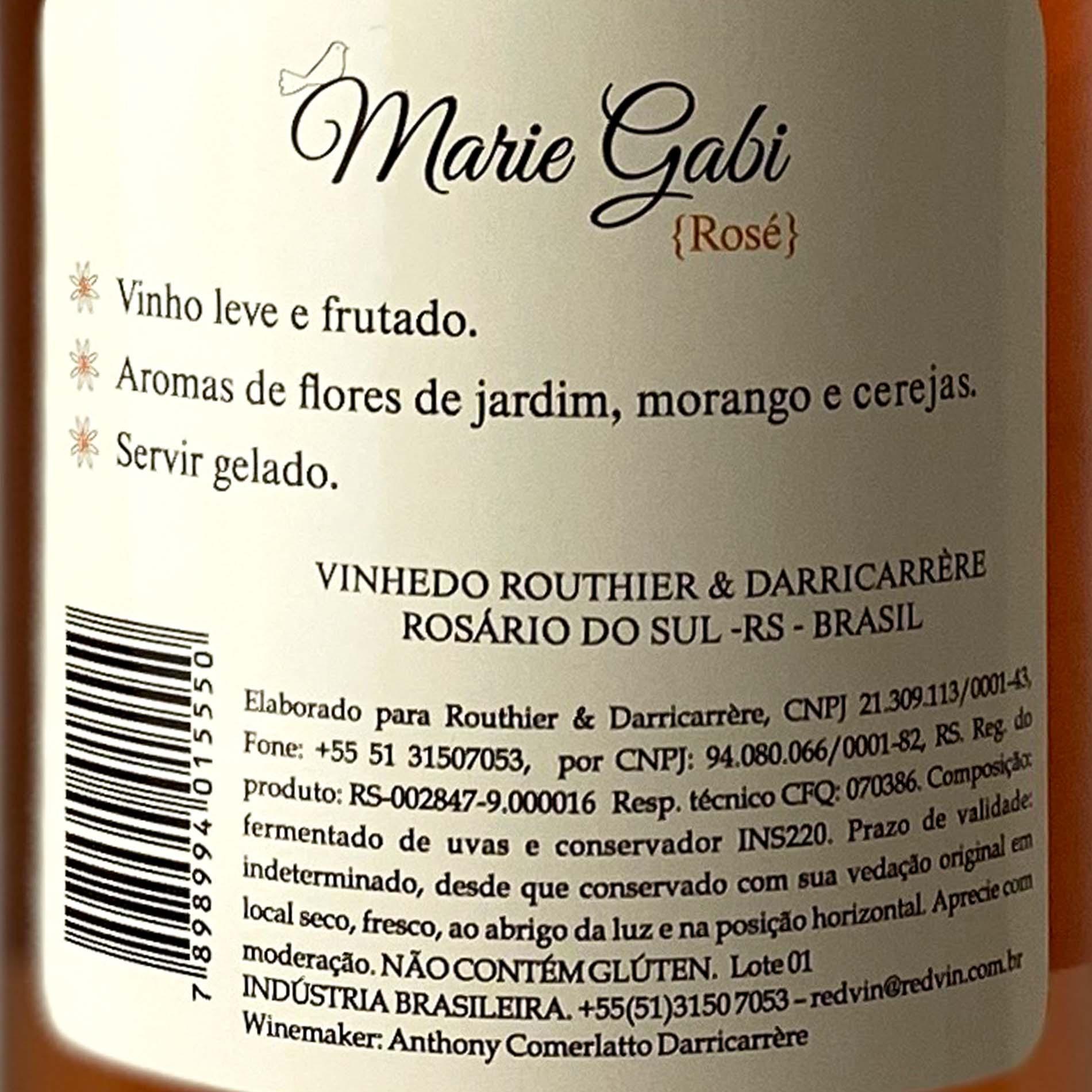 Marie Gabi Rosé  - Vinerize