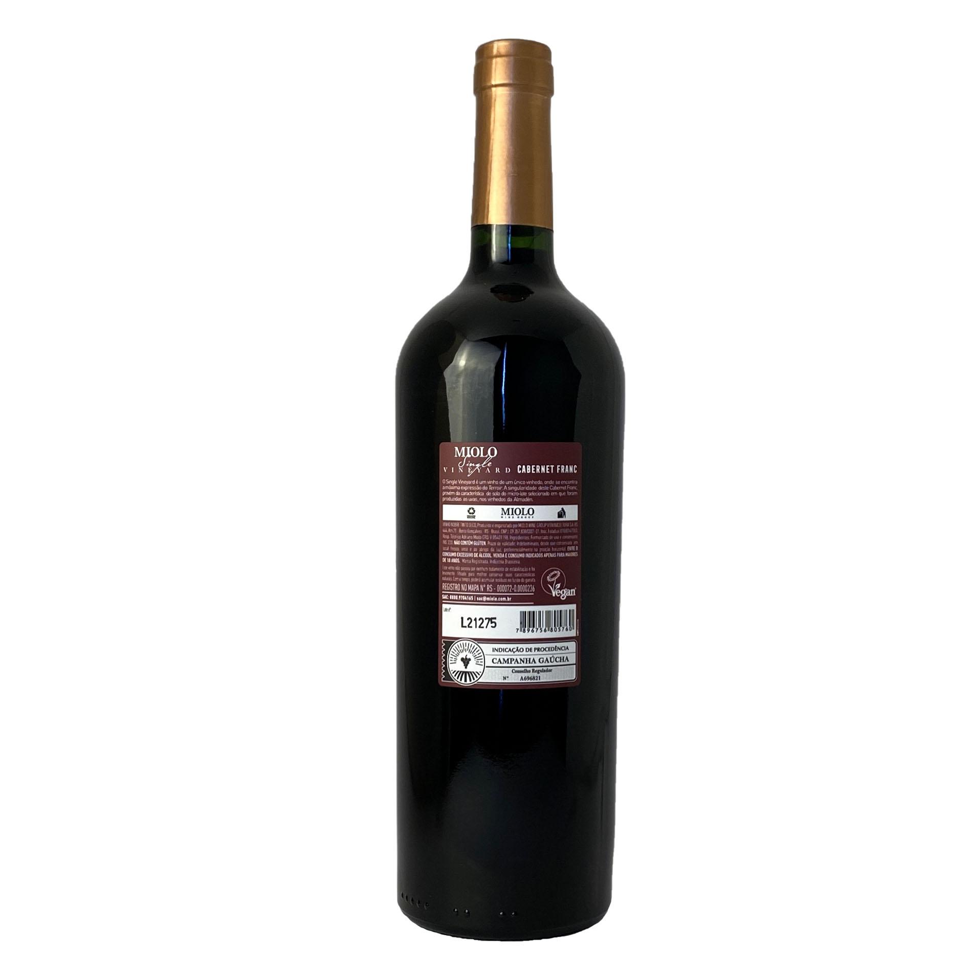Miolo Single Vineyard Cabernet Franc  - Vinerize