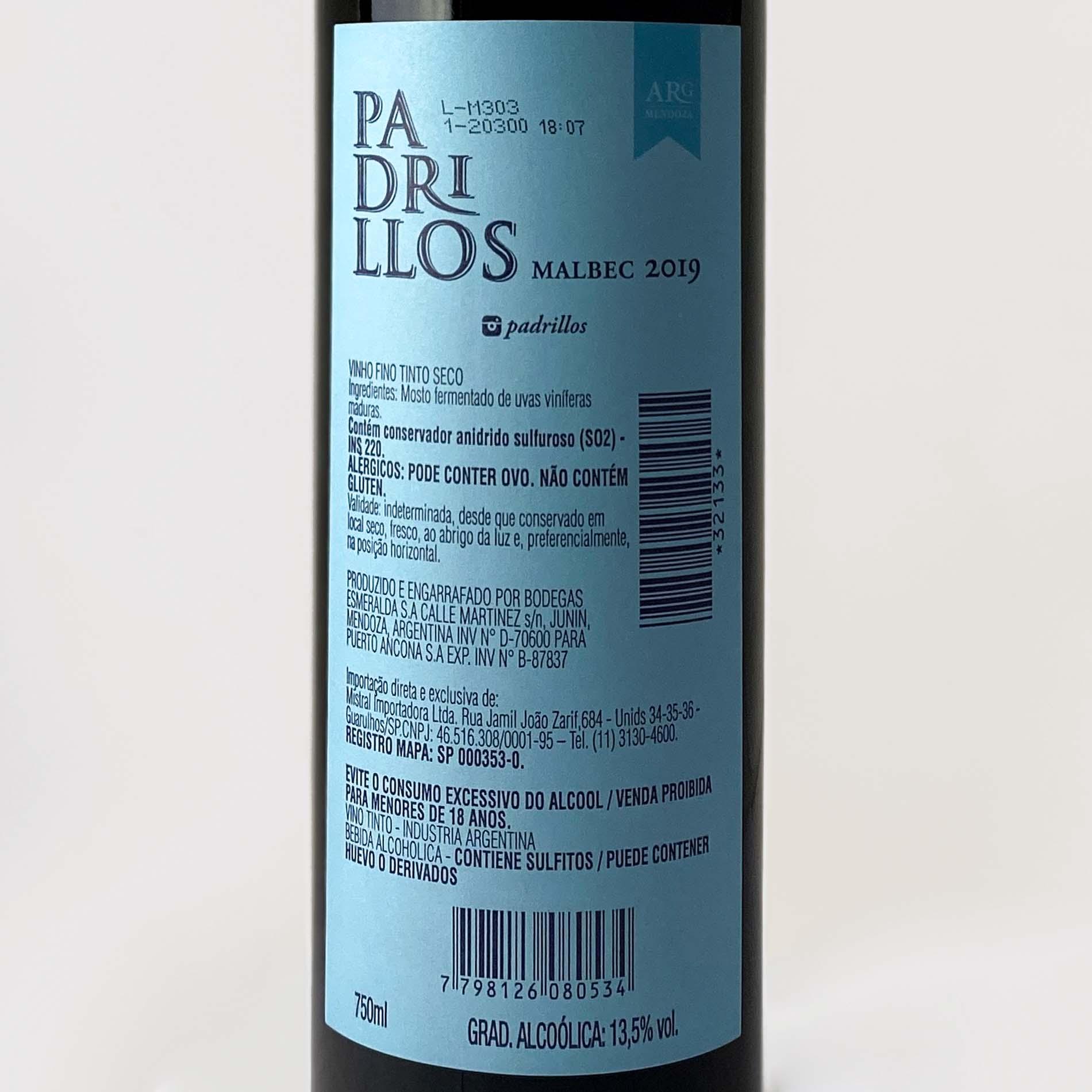Padrillos Malbec  - Vinerize