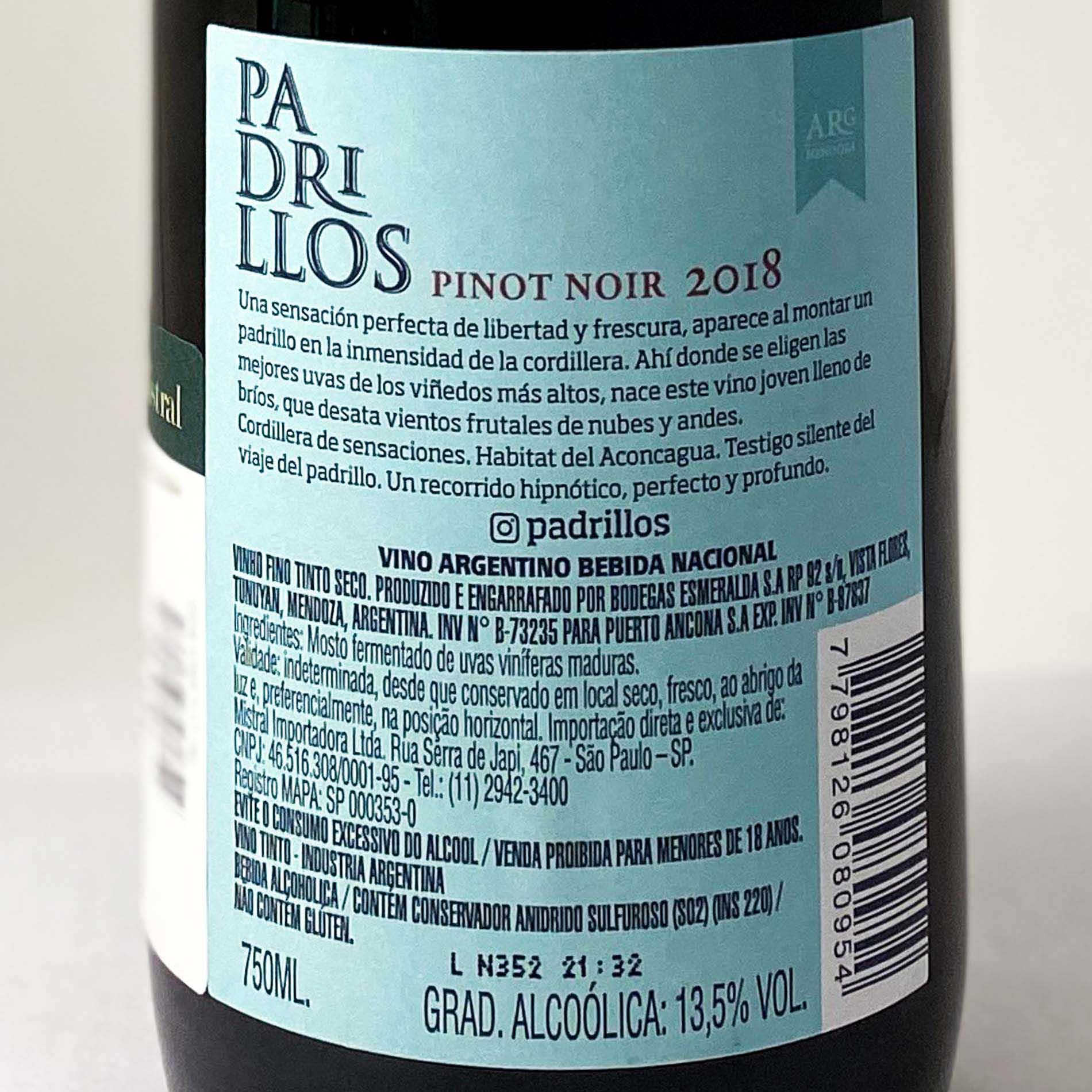 Padrillos Pinot Noir  - Vinerize