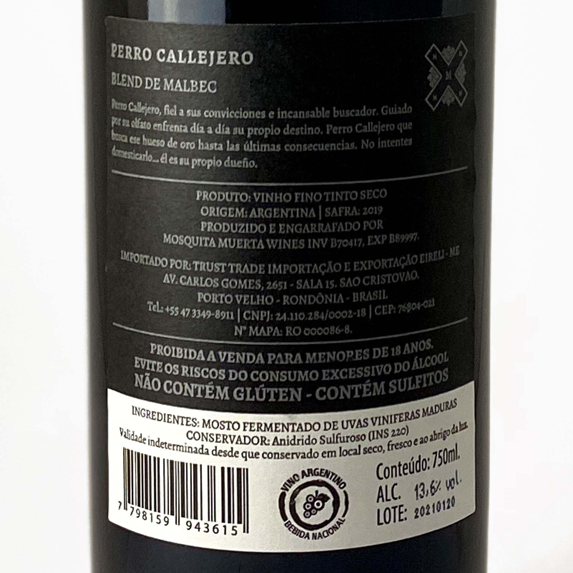 Perro Callejero Malbec  - Vinerize