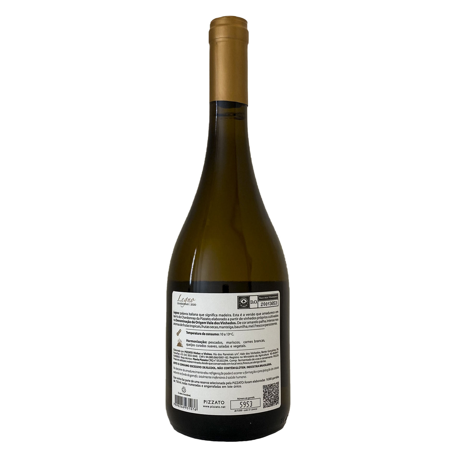 Pizzato Legno Chardonnay D.O.V.V.  - Vinerize