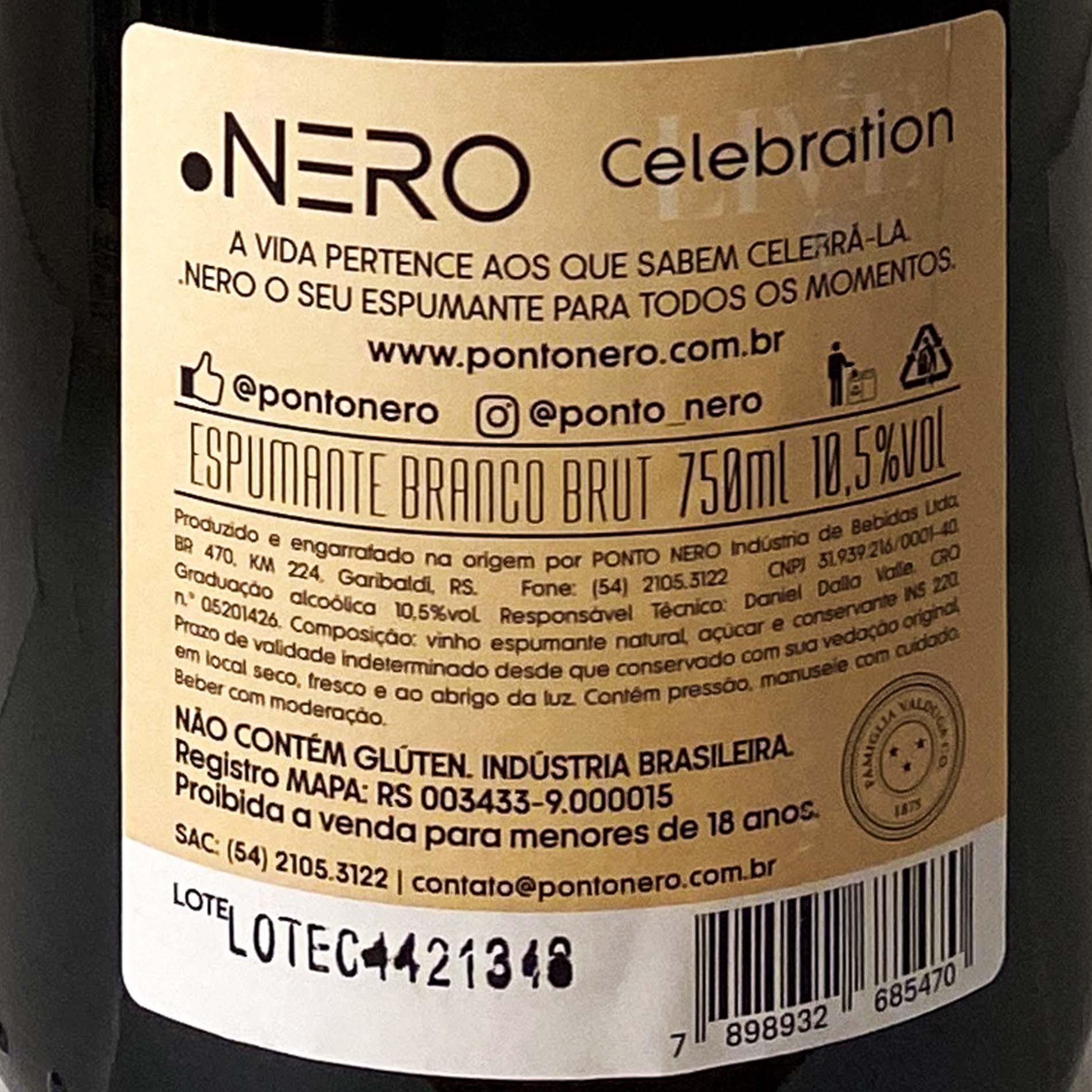Ponto Nero Live Celebration Brut  - Vinerize