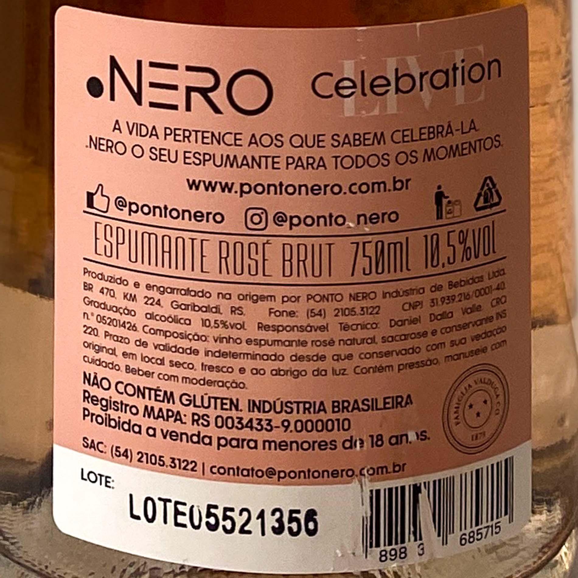Ponto Nero Live Celebration Brut Rosé  - Vinerize