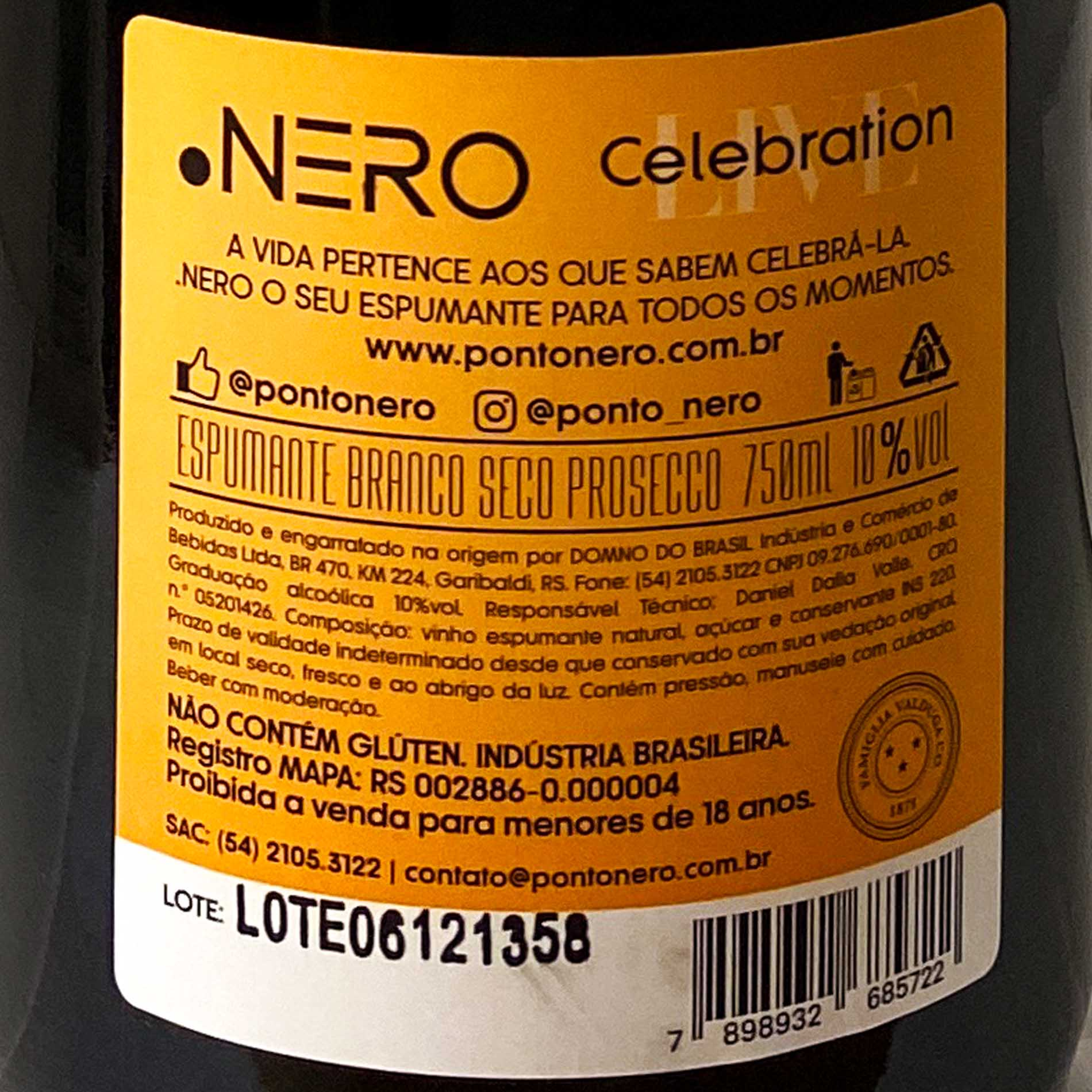 Ponto Nero Live Celebration Glera (Prosecco)  - Vinerize