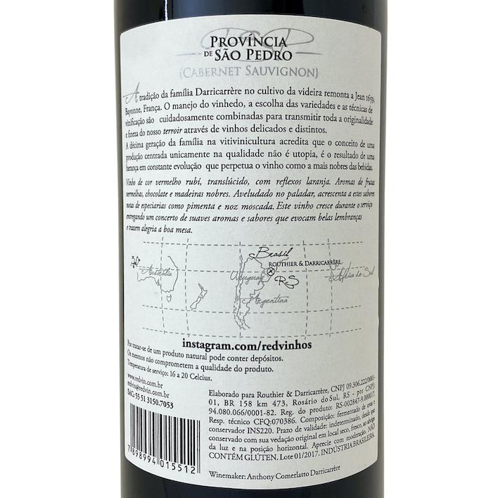 Província de São Pedro - Cabernet Sauvignon  - Vinerize