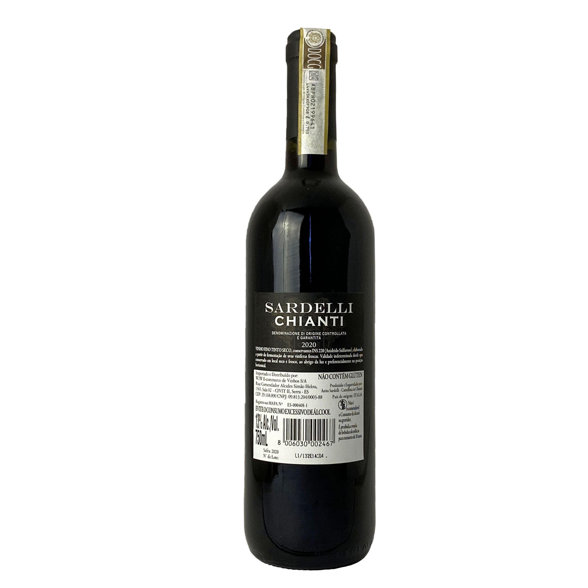 Sardelli D.O.C.G. Chianti  - Vinerize