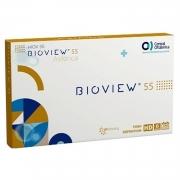 Lentes de Contato BIOVIEW 55 HIDROGEL HD CX 6 UND