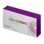 Lente de contato colorida descartável SOLFLEX NATURAL COLORS - SOLÓTICA - Com grau