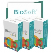 Lentes de contato coloridas Biosoft Color Sem Grau