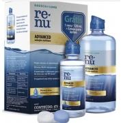 Renu Advanced 475 ml - Solução multiuso para lentes de contato