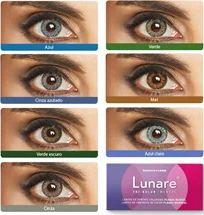 Lente de contato coloridas Lunare Tri-Kolor - Descarte Mensal - Sem grau
