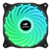Cooler Fan Storm 12cm com LED Multicolorido C3Tech