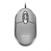 Mouse Multilaser Classic Prata MO006