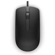 Mouse Óptico Com Fio Dell MS116 Preto