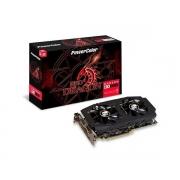 Placa de Vídeo AMD Red Dragon Radeon RX580 8GB PowerColor