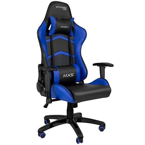 Cadeira Gamer MX5 MYMAX Preto/Azul