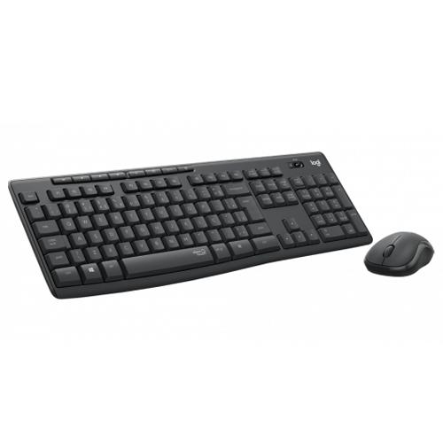Kit Teclado e Mouse Logitech Sem Fio MK270
