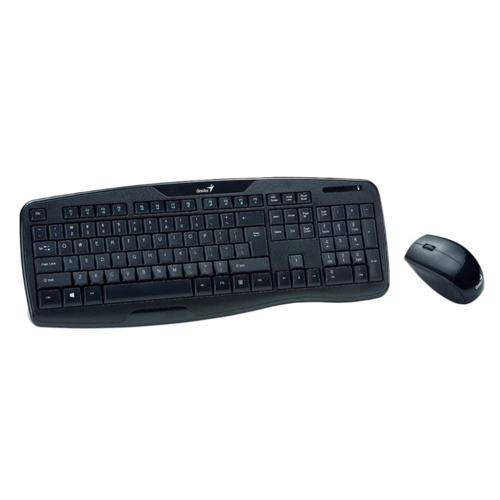 Kit Teclado e Mouse Wireless Genius Kb-8000x