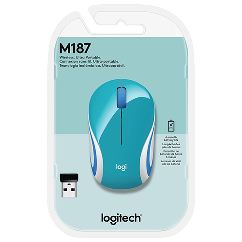 Mini Mouse Logitech Sem Fio M187