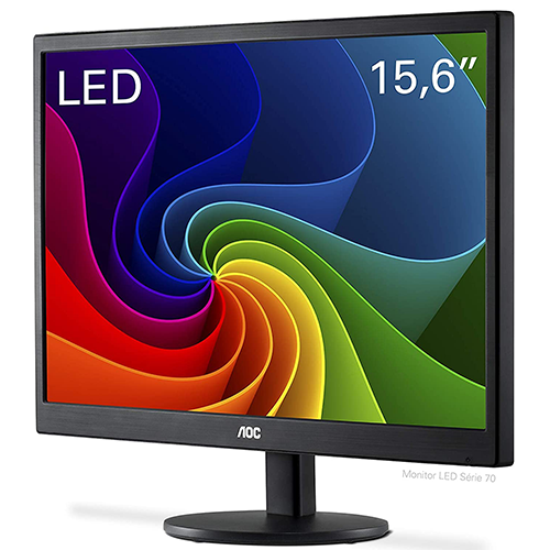 Monitor LED 15,6'' Widescreen AOC