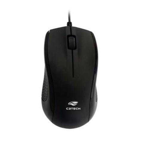 Mouse C3Tech USB Preto MS-25BK